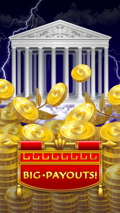 Zeus Epic Myth Slots Pro Edition screenshot 3