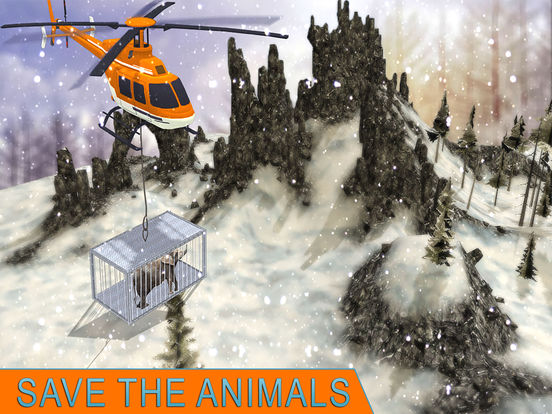 Animal Rescue Helicopter : Heli Flight Simulator screenshot 9