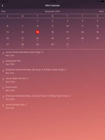 MySikhi - Nitnem Gutka & Calendar - náhled