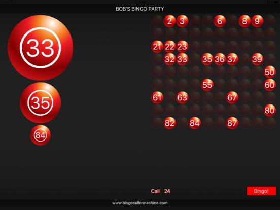 Bingo Caller Machine screenshot 9