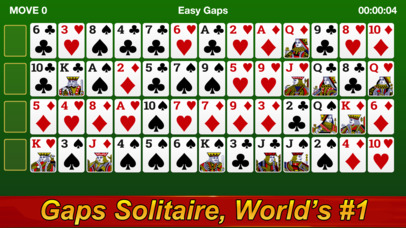 Gaps Solitaire screenshot 1