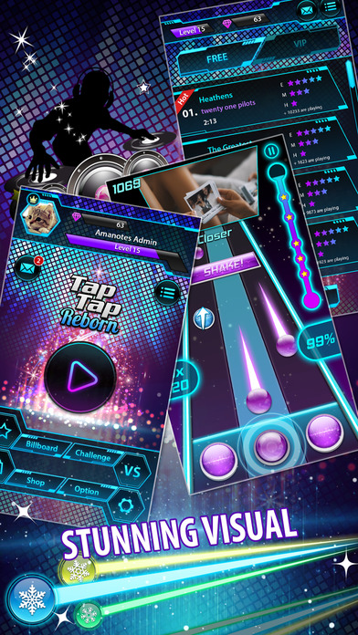 Tap Tap Reborn 2: Rhythm Game screenshot 4