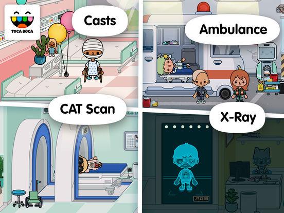 Toca Life: Hospital screenshot 10