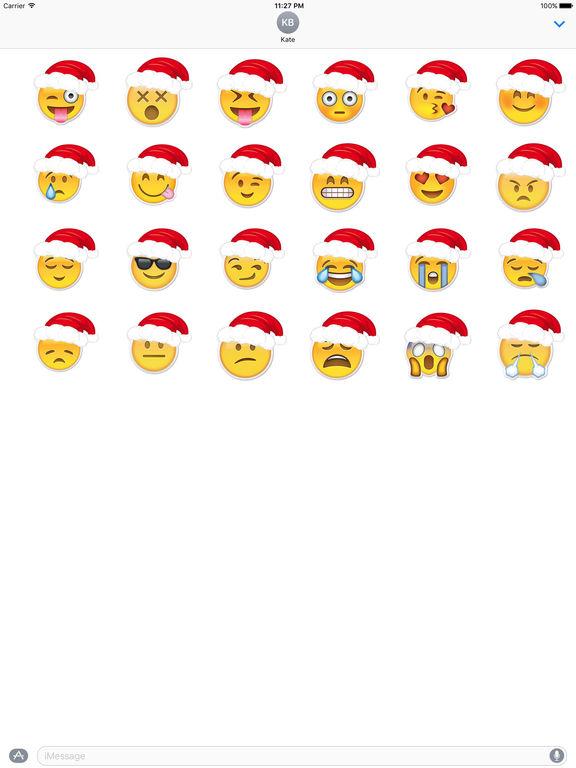 Emoji Stickers For Merry Christmas screenshot 3