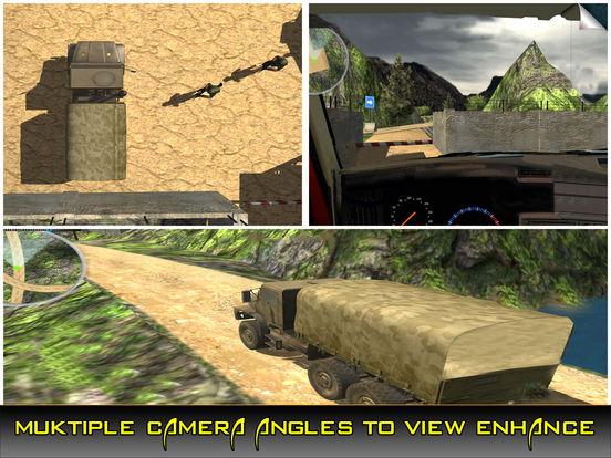 US Army Trucker Park : Gambler Traffic Sim-ulator screenshot 6