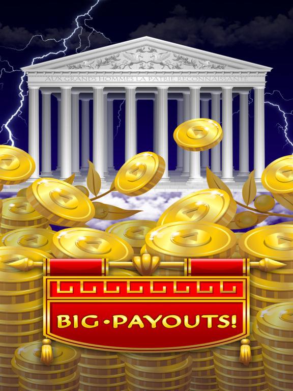 Zeus Epic Myth Slots Pro Edition screenshot 7