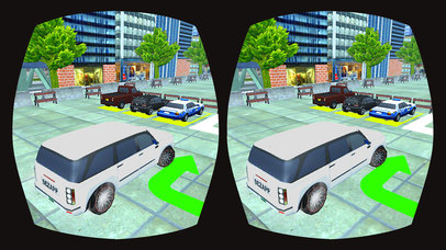 VR Prado Car Parking : Multi-Story Top Kids Game screenshot 3