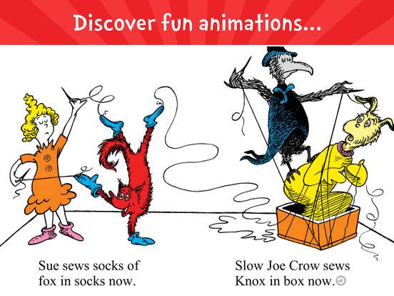 Fox in Socks by Dr. Seuss screenshot 7