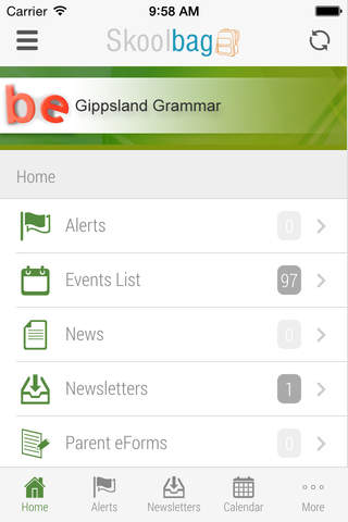 Gippsland Grammar School - Skoolbag - náhled