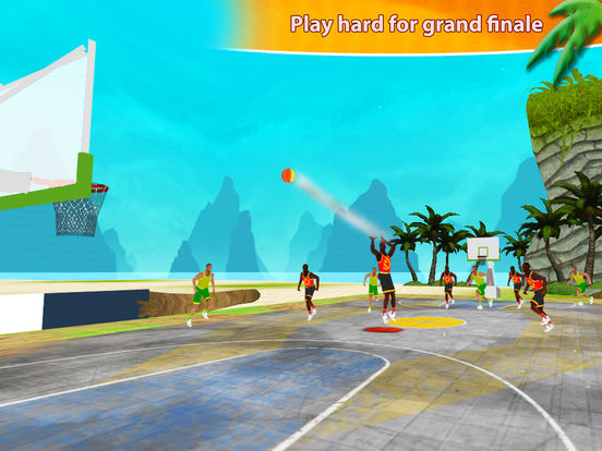 Beach Basketball Hoops - Slam Dunks for NBA Fans screenshot 8