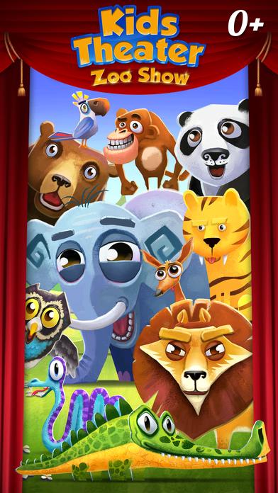 Kids Theater: Zoo Show screenshot 1