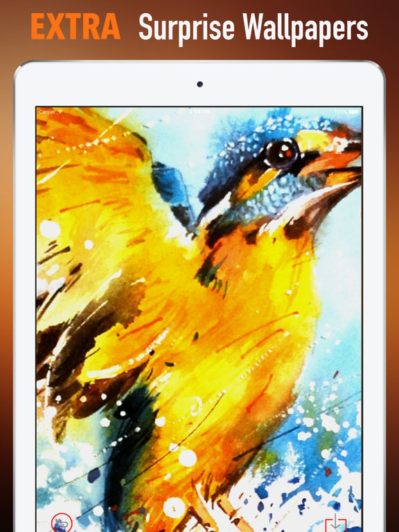 Watercolour Animals Wallpapers HD- Quotes and Art screenshot 8
