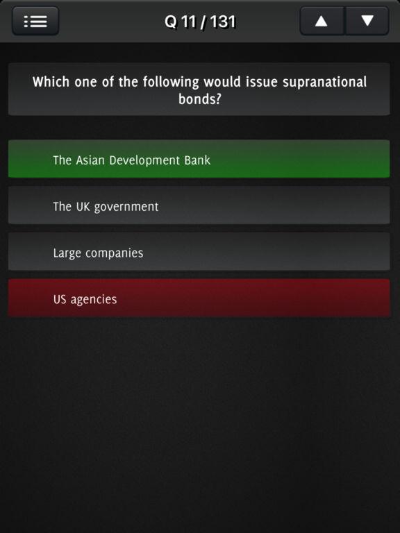 Securities Test Question screenshot 7
