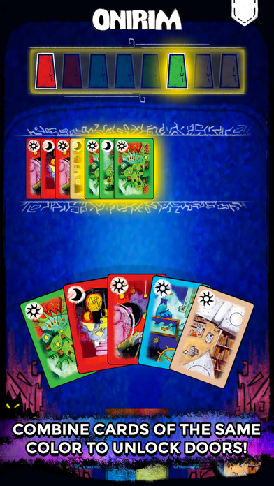 Onirim - Solitaire Card Game screenshot 3