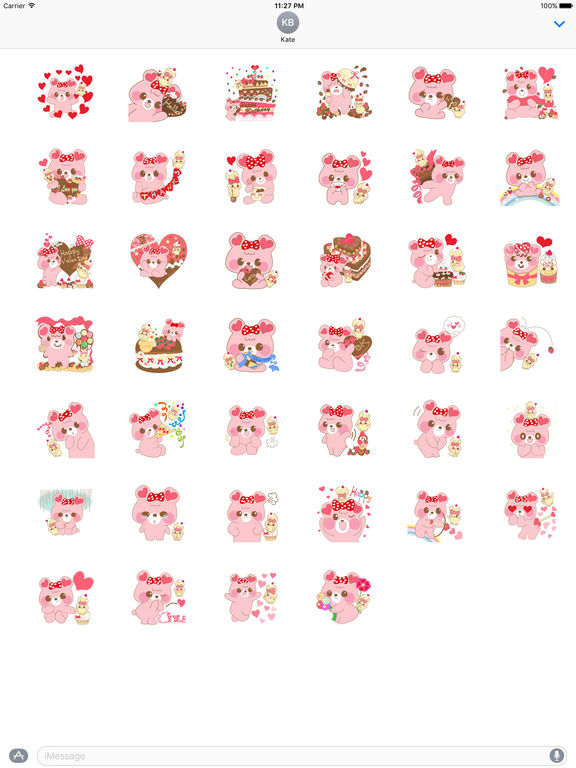Valentine Card Stickers Pack screenshot 4