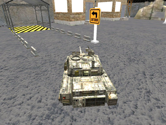 VR Military Tank Parking Driver Army Truck Driving screenshot 8