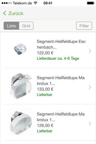sehhelfer Onlineshop - náhled