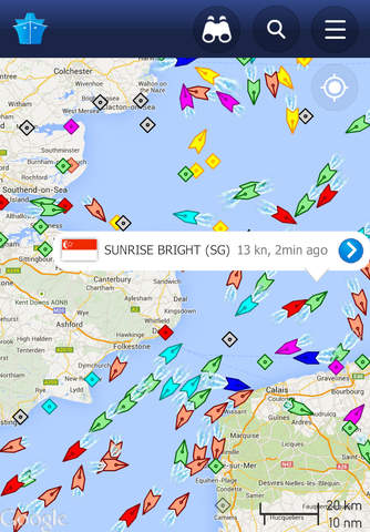 MarineTraffic - Ship Tracking - náhled