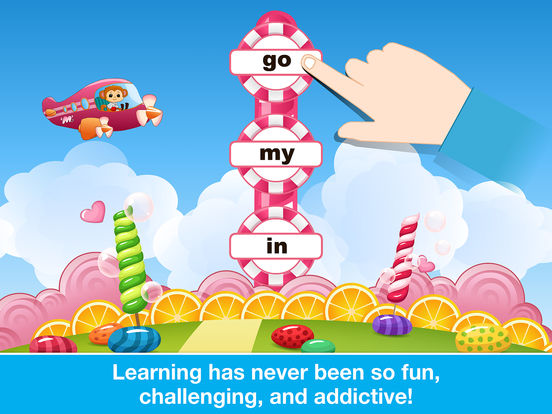 Sight Words Games in Candy Land - Reading for kids screenshot 10
