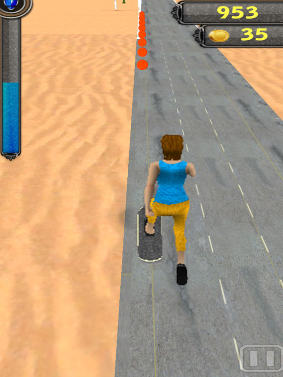 Skating run 3D screenshot 5