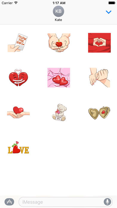 Signs Of Love - So Sweet Stickers! screenshot 3