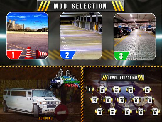 Fancy Limousine Parking : New Car Sim-ulation Game screenshot 5