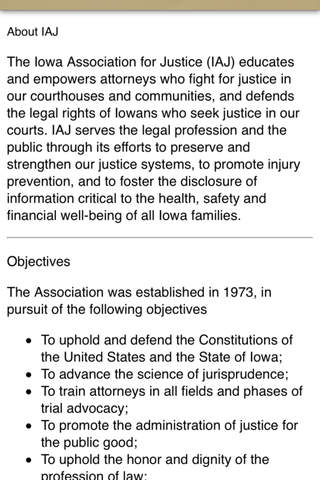 Iowa Association for Justice - náhled