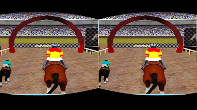 Virtual Horse Racing : VR Amaz-ing Run Adventure screenshot 1