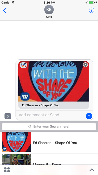 ShareTube for youtube-share videos with friends screenshot 1