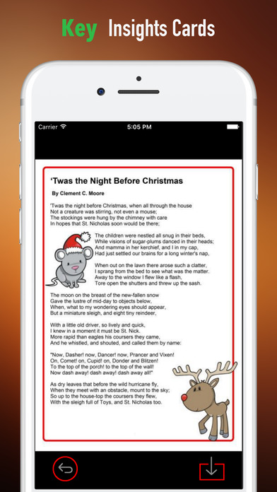 Quick Wisdom from The Night Before Christmas screenshot 4