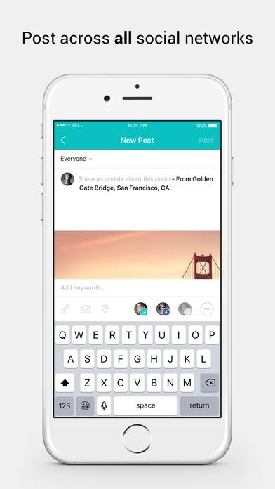 تطبيق Baaz للوصول إلى جميع الشبكات الاجتماعية في مكان واحد