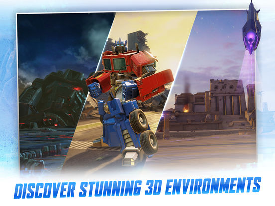 TRANSFORMERS: Forged to Fight screenshot 9