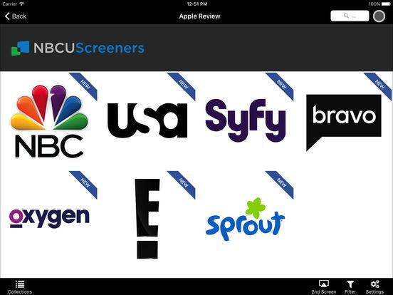 NBCU Screeners screenshot 4