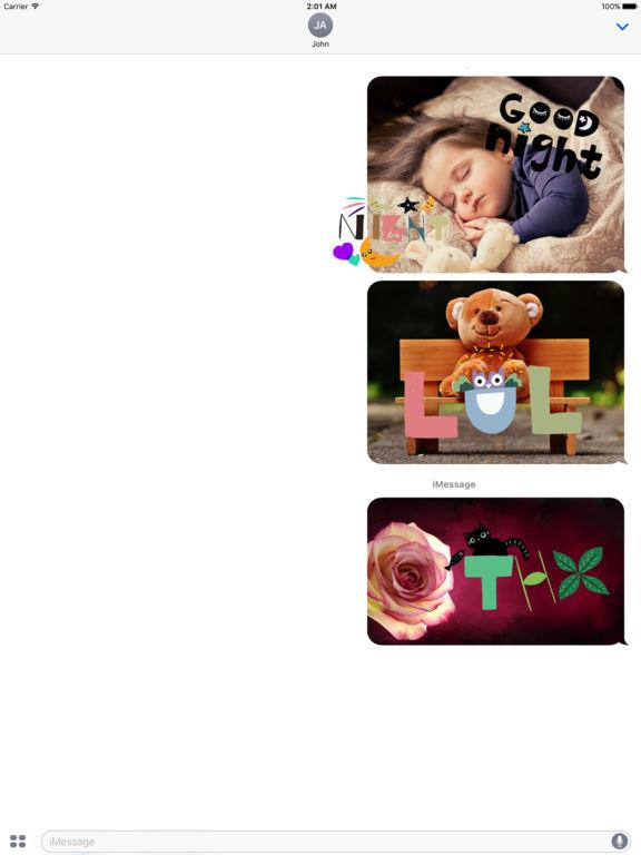 WordMine - Doodle Words Stickers screenshot 8