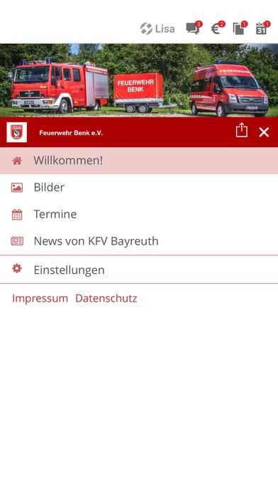 Feuerwehr Benk screenshot 2