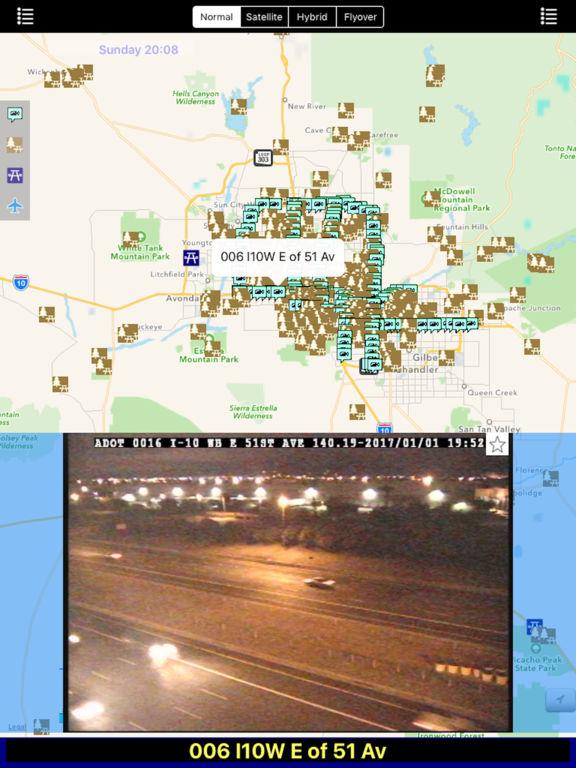 Arizona NOAA Radar with Traffic Camera 3D screenshot 7