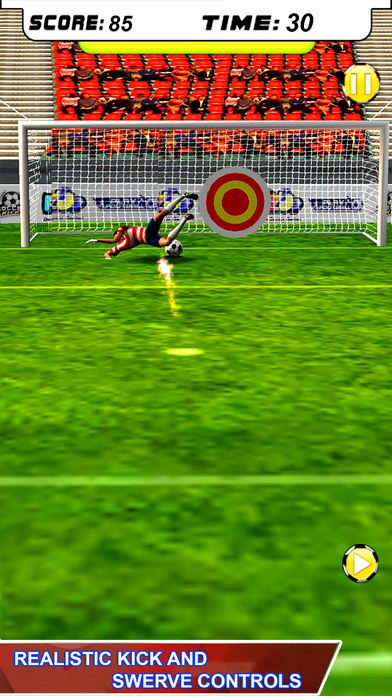 Football Penalty Shot screenshot 2
