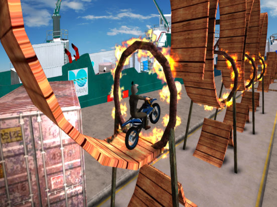 Tricky Bike Trail Stunt : Real Crazy Ride-r 2017 screenshot 5