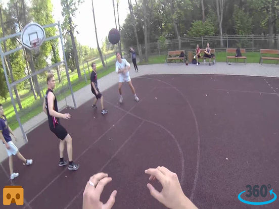 VR Basketball Shot Pro with Google Cardboard screenshot 3