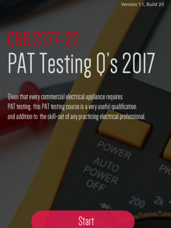 City&Guilds 2377 PAT Testing screenshot 5