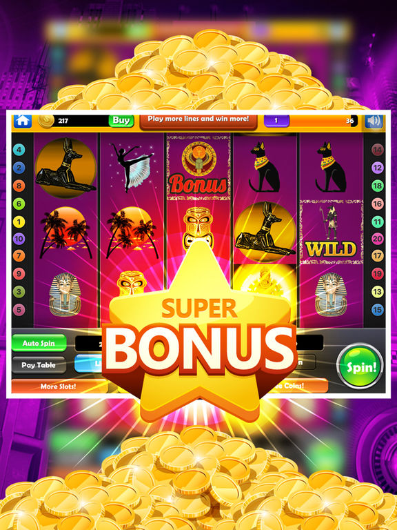 Wizard Slot Machine - Win 777 Double Gold Casino screenshot 9