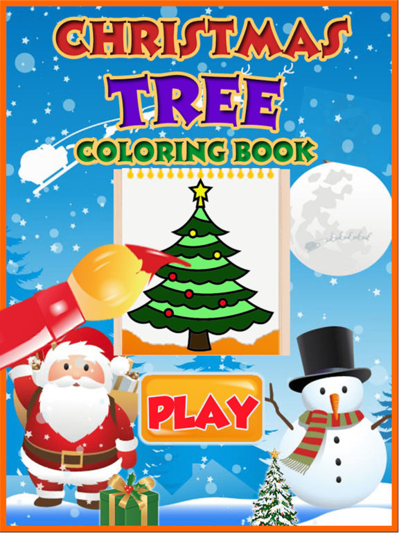 Christmas Tree Coloring book for Toddler & Pre-k screenshot 5