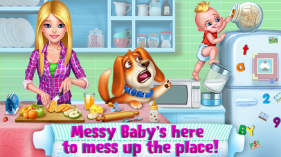 OMG! Messy Baby screenshot 1