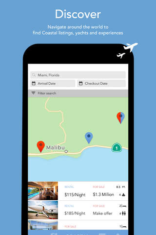 ItsCoastal – Book & Buy Yachts, Homes & Experience - náhled