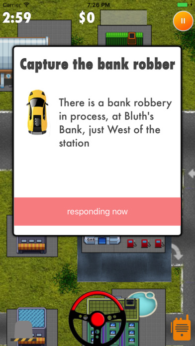 2D Police Pursuit screenshot 2
