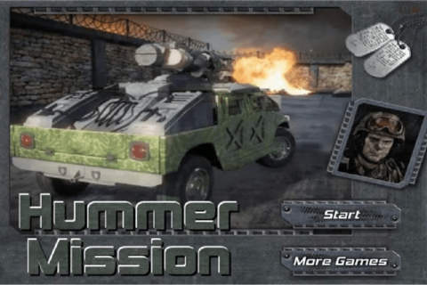 Army Hummer Mission - náhled