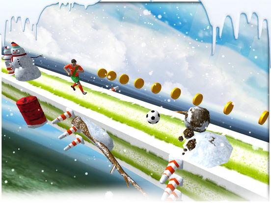 Soccer stunts and race - winters soccer trainer 3d screenshot 9