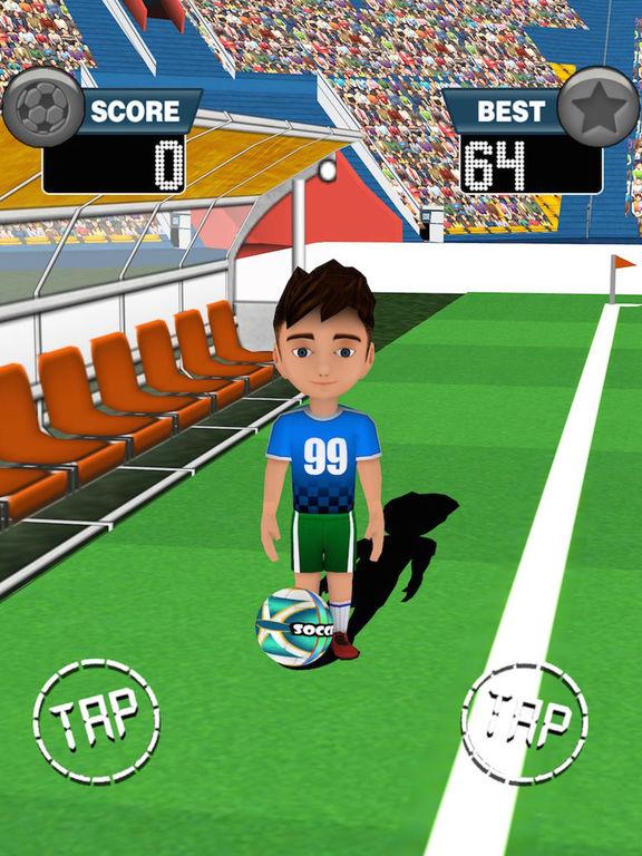 Tap Soccer Challenge screenshot 8