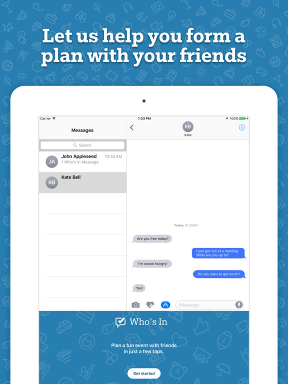 Who's In - Plan a fun event with friends screenshot 6