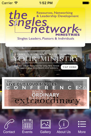 The Singles Network Ministries - náhled